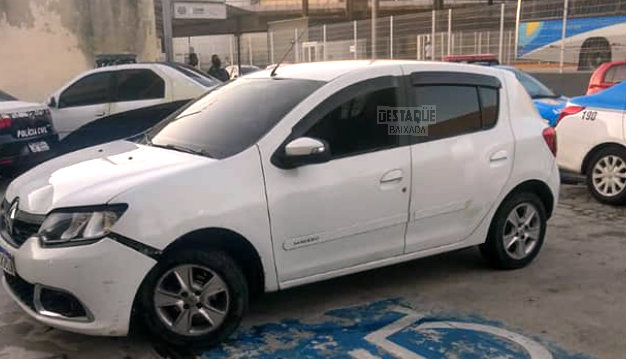 Photo of Perseguição e tiros, PM recupera carro roubado e prende bandido, na Via Light
