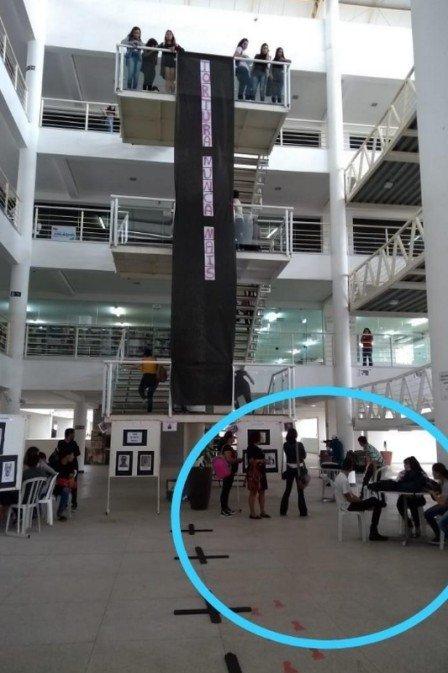 Photo of Imagens mostram bandido atirando e pânico em universidade da Paraíba
