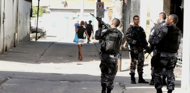 Operações policiais na data de hoje