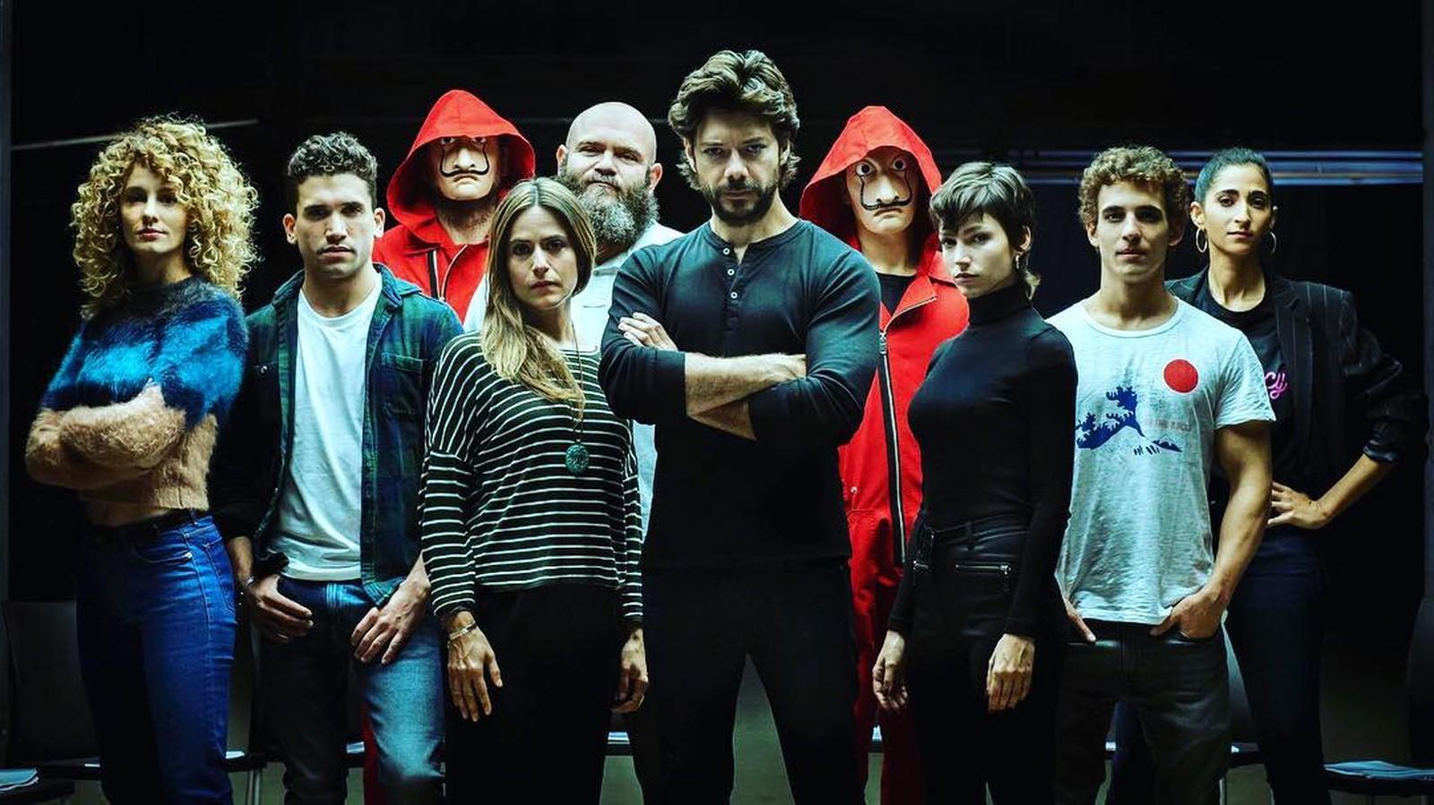 Photo of Netflix divulga trailer da 3º temporada de La Casa de Papel com Berlim vivo
