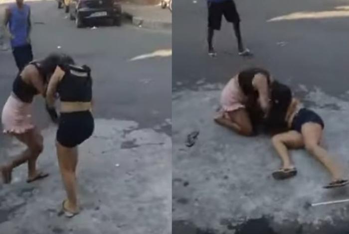 Photo of Mulher mata amante do pai espancada e pessoas filmam a briga