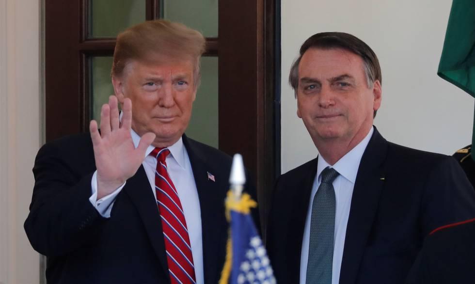 Trump oferece ajuda para combater incêndio na floresta amazonica