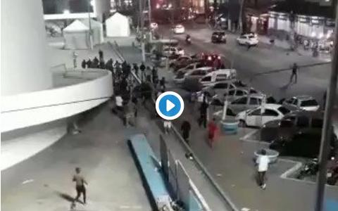 Força Jovem do Vasco dá ataque na Jovem Fla em ação social