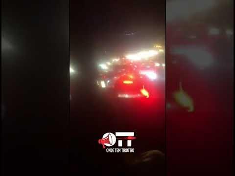 Photo of Vídeo mostra pessoas em pânico durante arrastão na Linha Vermelha no último domingo