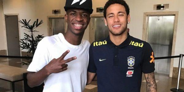 Negociação de Neymar com o Real Madrid envolve Vinicius Junior