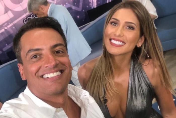 Lívia Andrade pede para Léo Dias não tocar no seu nome