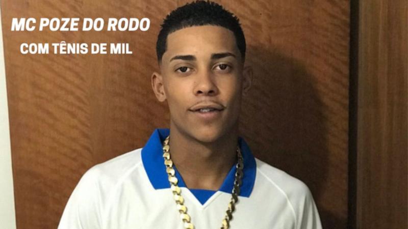Mc Poze do Rodo vai cantar em festa da Libertadores no Maracanã