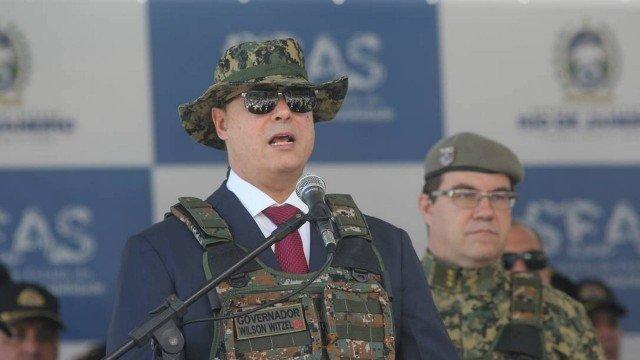 Para combater o tráfico de armas e drogas, Witzel sugere fechar fronteiras