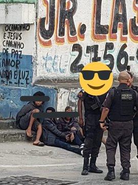 3 bandidos são presos em flagrante em São João de Meriti
