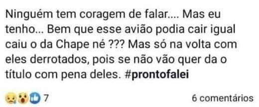 Torcedora do Vasco pediu que avião que levava jogadores do Flamengo caísse