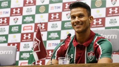 """Photo of Henrique é apresentado pelo Fluminense e cutuca ex-clube: """"honestidade e honra são valores que admiro"""""""