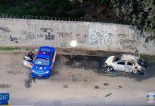 Dois corpos carbonizados são encontrados em carro na Vila do João.