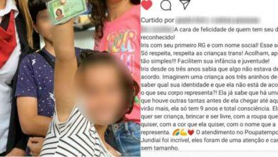 Photo of Criança trans de 9 anos tira RG com nome social e mãe comemora na web: 'Direito reconhecido'