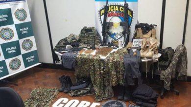 Photo of Milícia de Santa Cruz usa emblemas e até números de ordem de viaturas de unidades de elite da polícia