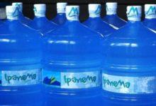 Venda de Galão de água da marca Ipanema esta proibido no Rio