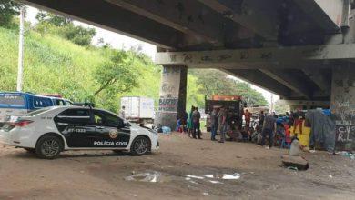 Photo of Polícia realiza limpeza em Cracolândia da CDD