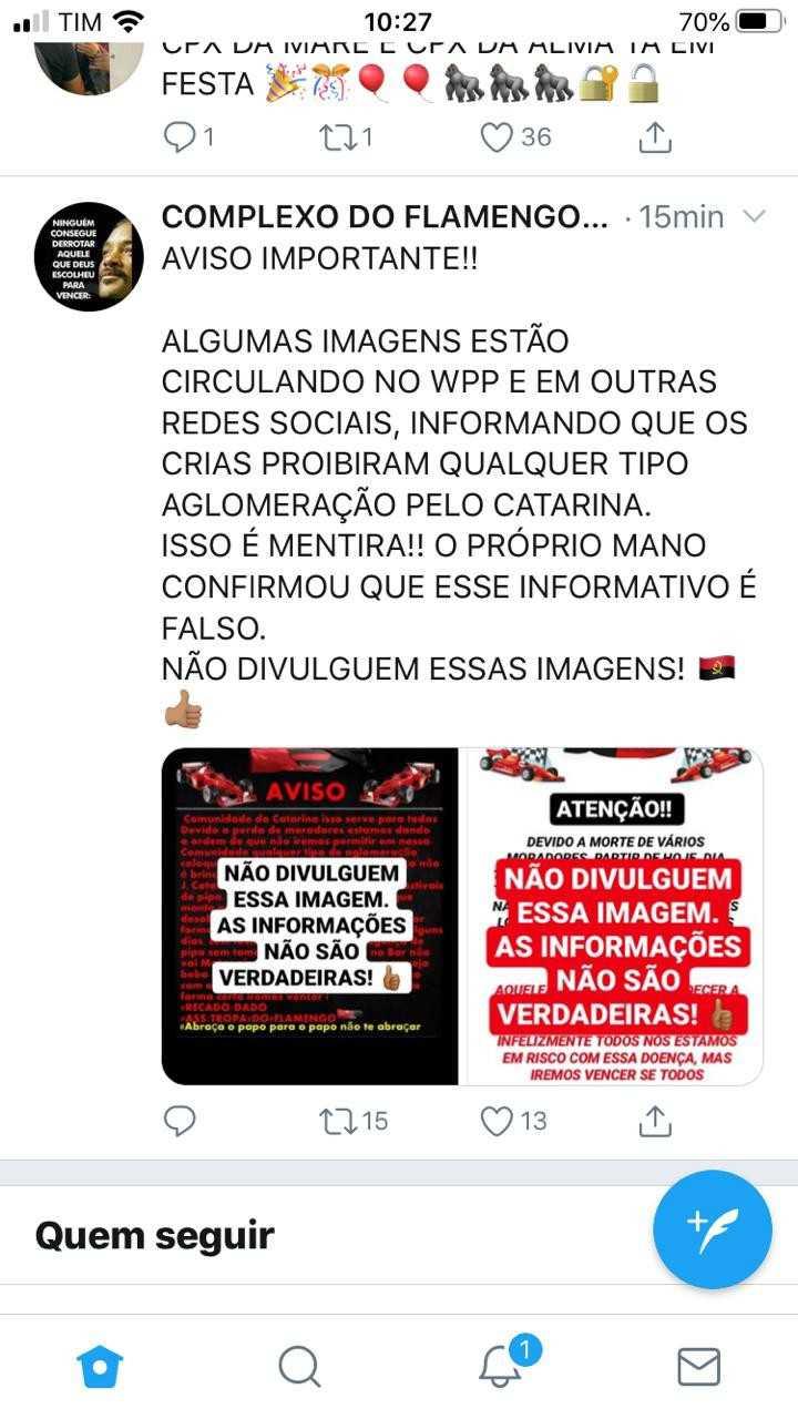 Photo of Tráfico no Catarina (CV) diz que não proibiu aglomerações conforme divulgado
