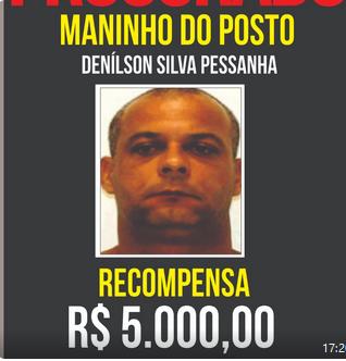 Photo of Disque Denúncia aumenta para R$ 5 mil recompensa por informações sobre Maninho do Posto
