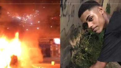 Photo of Ônibus foi incendiado em Meriti em protesto pela morte de jovem de 19 anos