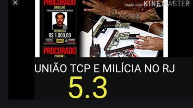 Photo of União do tráfico com a milícia presente em dez bairros da capital e cinco municípios do Grande Rio